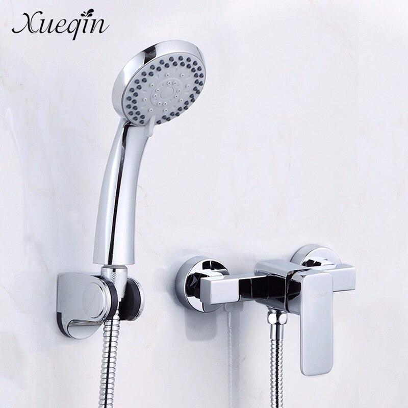 Xueqin Bathroom Shower Sets Water Faucet Tap Bath Shower Head ...