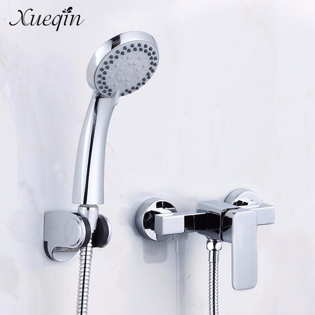 Xueqin Bathroom Shower Sets Water Faucet Tap Bath Shower Head ...