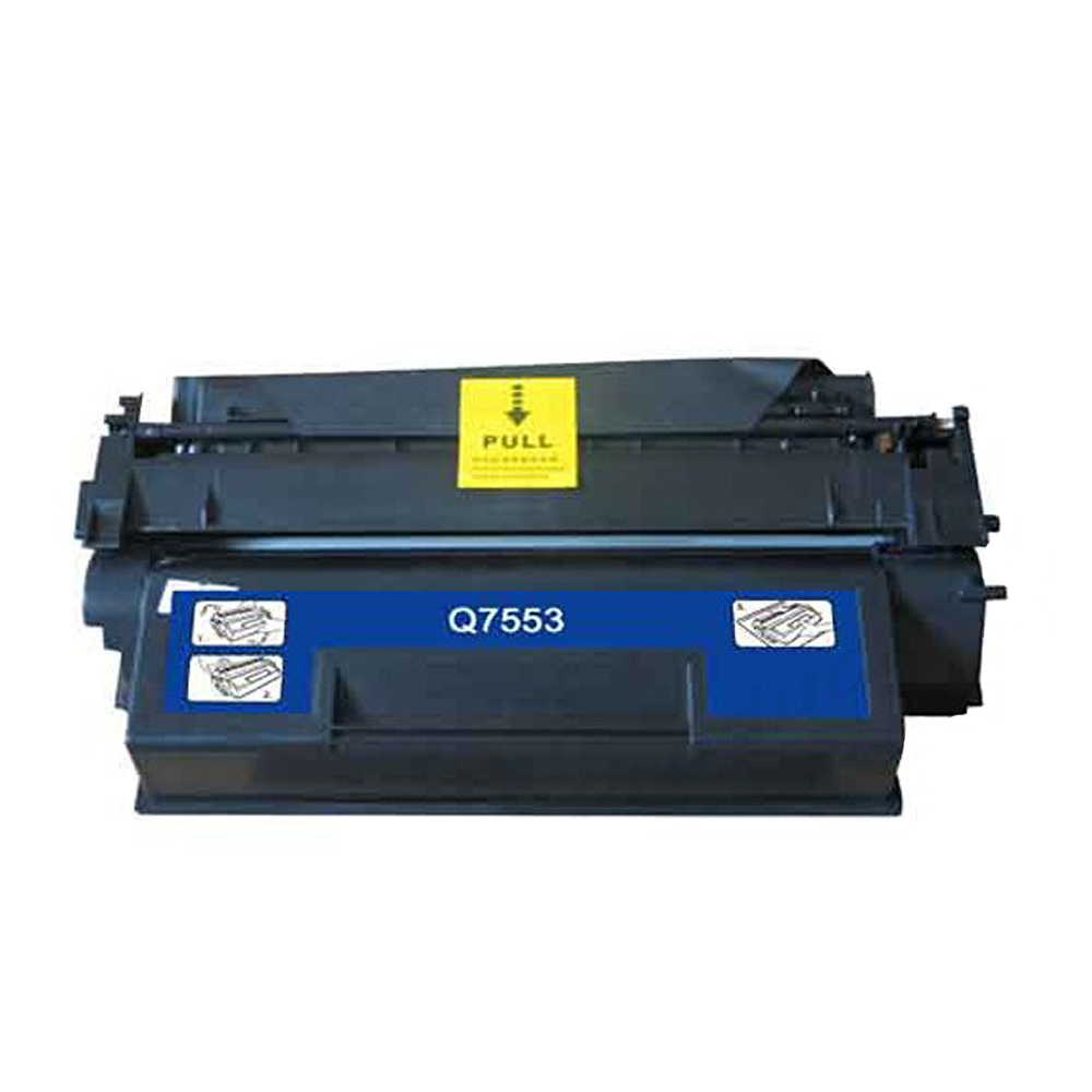 ФОТО Hisaint Listing Compatible Replacement for HP Q7553X Black Toner Cartridge For HP LaserJet P2014/ P2014N/ P2015/ P2015D/ P2015N