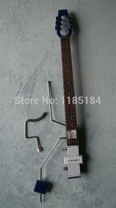 Livraison gratuite MiniStar RokstarTravel Guitare Électrique Construit en Casque Amp ROUGE