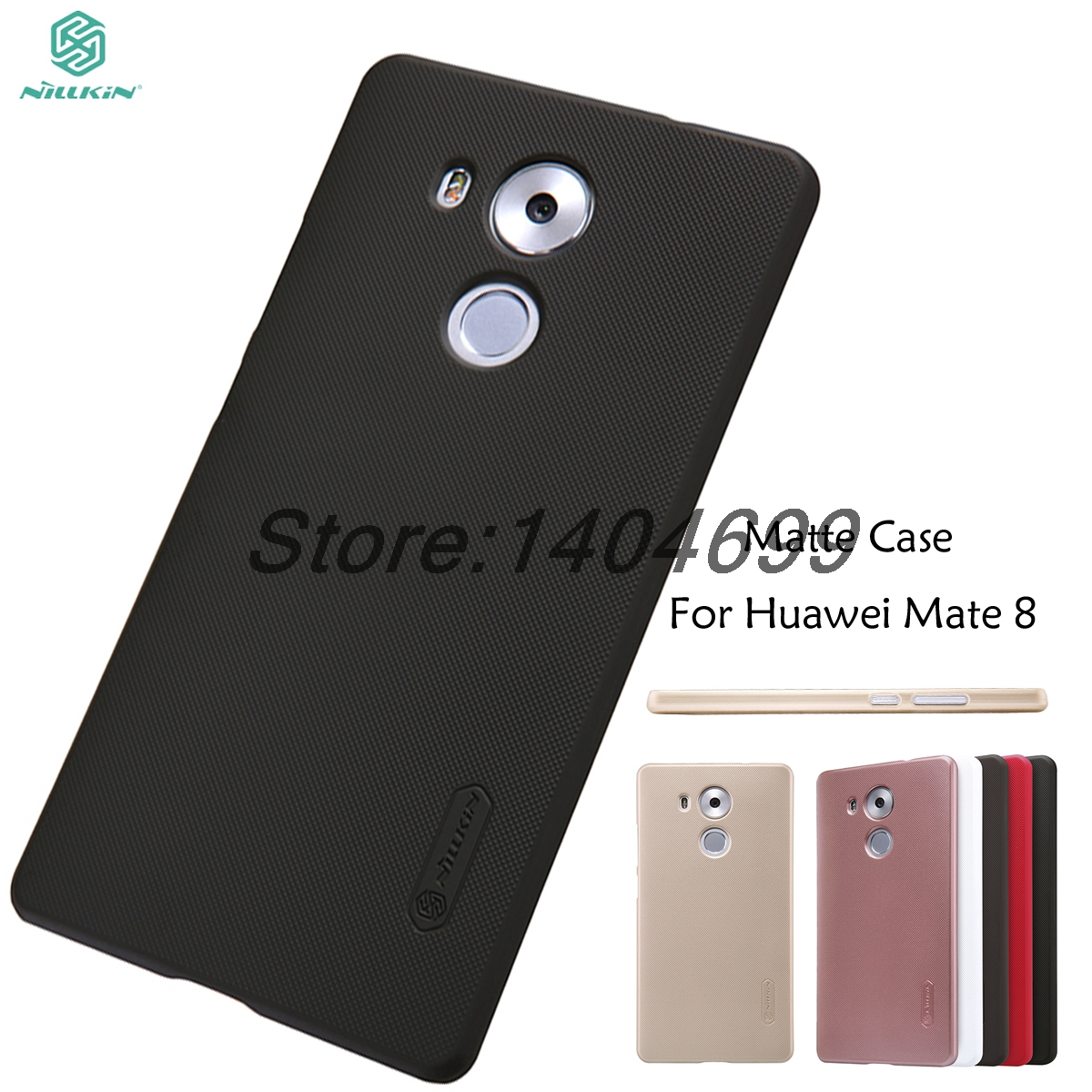 Huawei Mate 8 Case Nillkin Frosted Shield Hard Armor Back Cover Matte Case For Huawei Ascend Mate 8 Gift Screen Protector