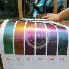 Пудра хамелеон, хамелеон пигмент, изменение цвета пигмента, цвет флип пигмент, 1 лот = 12 цветов* 10 грамм, всего: 120 г