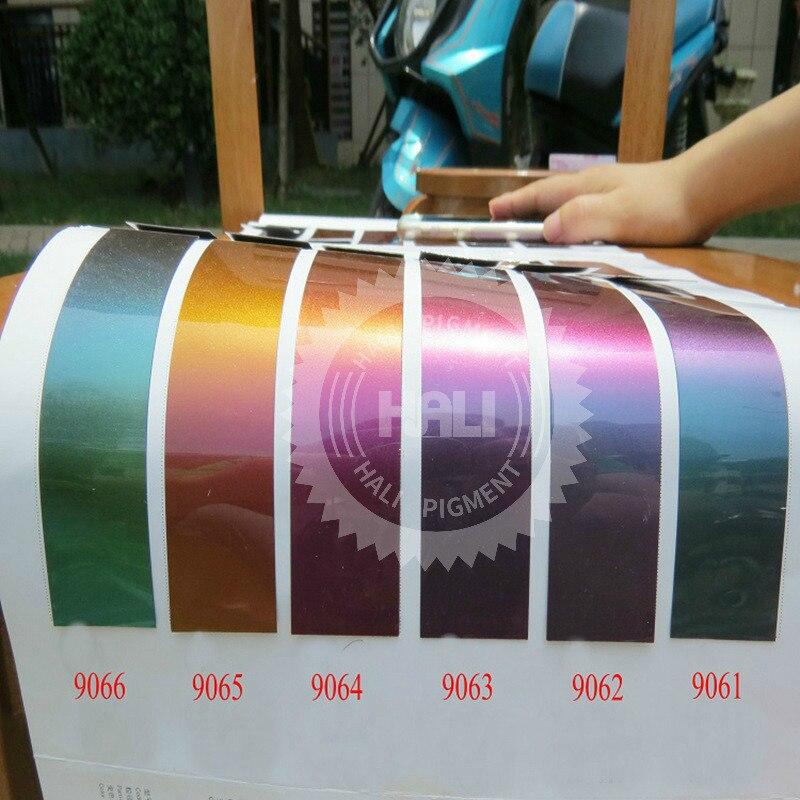 Ofis ve Okul Malzemeleri'ten Akrilik Boyalar'de Bukalemun tozu, bukalemun pigment, renk değişimi pigmenti, renk flip pigment, 1 grup = 12colors * 10 gram, toplam: 120g, ücretsiz kargo...'da  Grup 1
