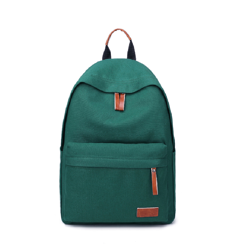 fashion women travel backpacks canvas gril green schoolbag teenagers girls blue mochilas feminina rucksack female 8color ...