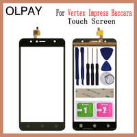 "OLPAY 5,5 ""Mobile TouchScreen Für Vertex Beeindrucken Baccara Versionen Touchscreen Glas Front Glas Digitizer Panel Objektiv Sensor"