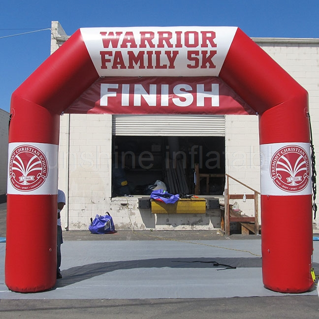 Cheap price size and colors custom durable oxford inflatable start/finish line arch for saleCheap price size and colors custom durable oxford inflatable start/finish line arch for sale