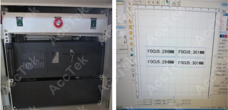 100% De Calidad Ak10f Co2 Máquina De Marcado Láser Para La Caja Del Teléfono Móvil/teclado/pcb/pvc