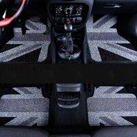 Автомобиль Коврики интерьер ПВХ спереди + сзади площадку прочный коврики Ковры для Mini Cooper Clubman F54 Авто Интимные аксессуары автомобиля для ук
