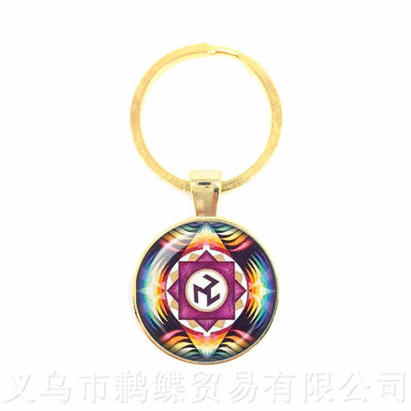 Kutsal geometri Antahkarana sembolü anahtarlıklar kolye anahtarlık kadın erkek çakra kolye meditasyon takı