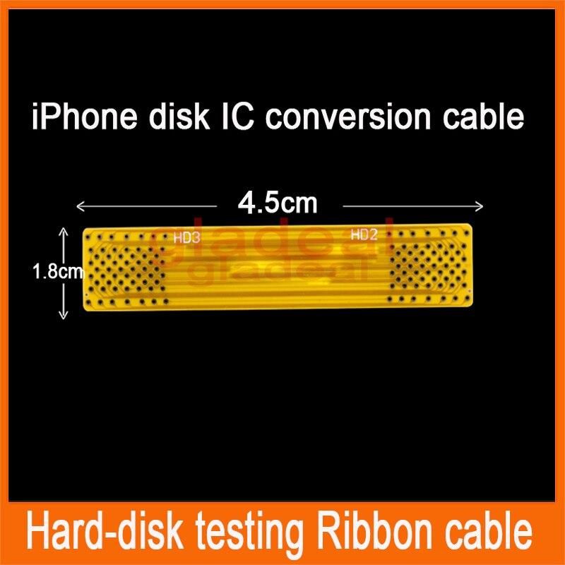 Length ribbon conversion cable for iphone 4/4S/5/5C/5S iPad 2/3 Hard-disk HDD Nand memory testing repairing корпус для hdd orico 9528u3 2 3 5 ii iii hdd hd 20 usb3 0 5