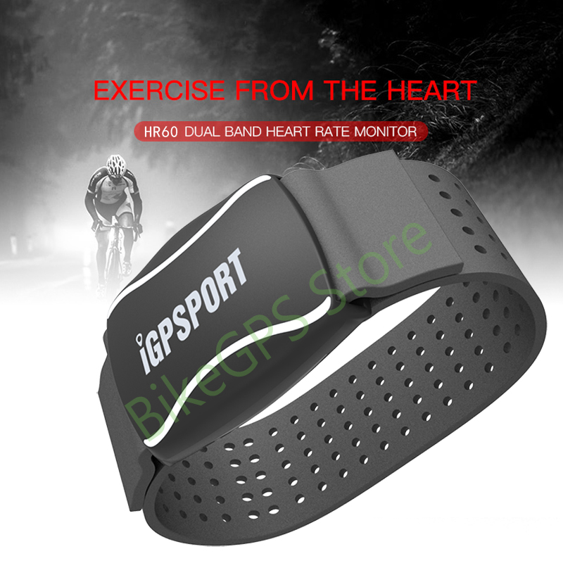 iGPSPORT Arm Photoelectric Heart Rate Monitor LED light warning HR60 Heart Rate