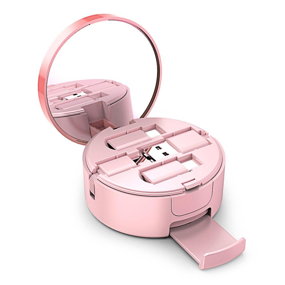 Oatsbasf USB Kabel Für Samsung Hinweis 9 S9 plus OPPO Finden X schnelle Ladegerät für iPhone XS Max XR iPad air X Pulver Kuchen Box USB Kabel