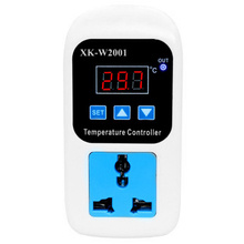 Digital Led Thermometer Temperature Controller Thermostat Incubator Control Microcomputer Delay Start With Probe 110-220V 1500