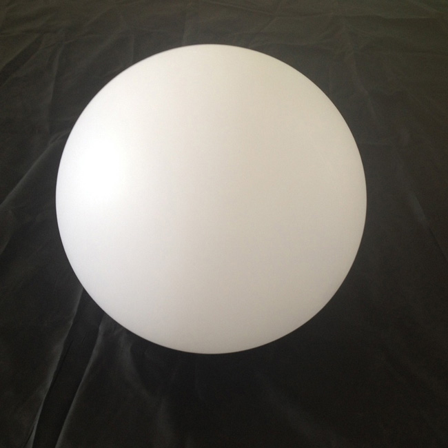 Diameter 35 60cm White Plastic Decoration ball Shell Case Indoor or Outdoor for Home/hotel/garden/siwmming pool Only to Japan