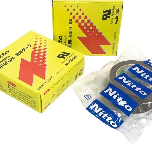 3pcs 3 Size T0.08mm*W(13mm,19mm,25mm)*L10m Japan NITTO DENKO Tape NITOFLON Waterproof Single Sided Tape 903UL