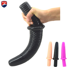 MLSice Screw Handle Dildo Long Penis Big Dick Female Vaginal Masturbate Anal Super Large Soft Dildo Butt Plugs Sex Toy for Women