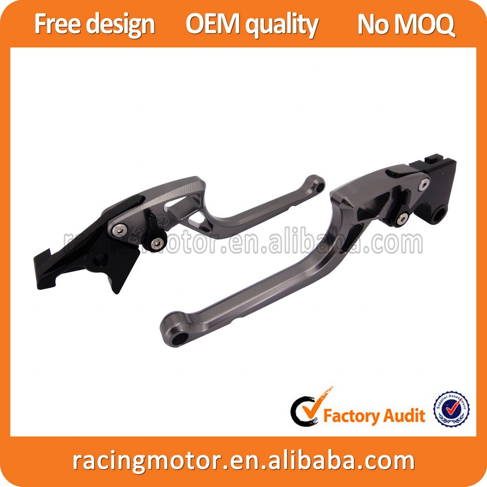 ФОТО New Arrived  Unbreakable Ergonomic New CNC Adjustable Right-angled 170mm Brake Clutch Levers For Kawasaki Z750R Z750 R 2011 2012