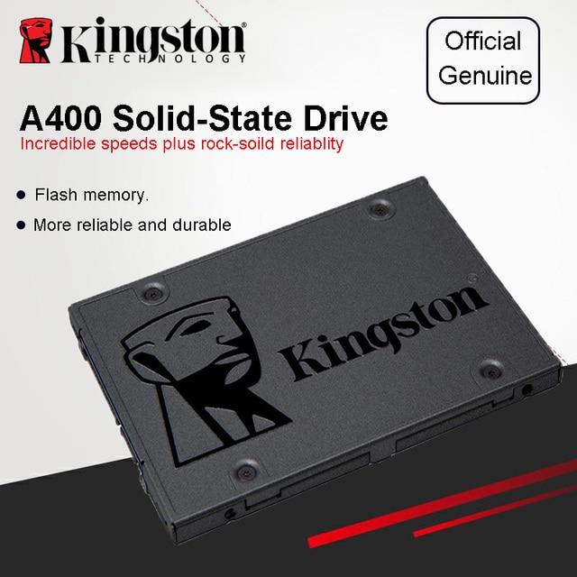 Kingston A400 SSD 120GB 240GB 480GB 2.5 inch SATA III HDD Hard Disk HD SSD Notebook PC 120 240 480 G Internal Solid State Drive 5
