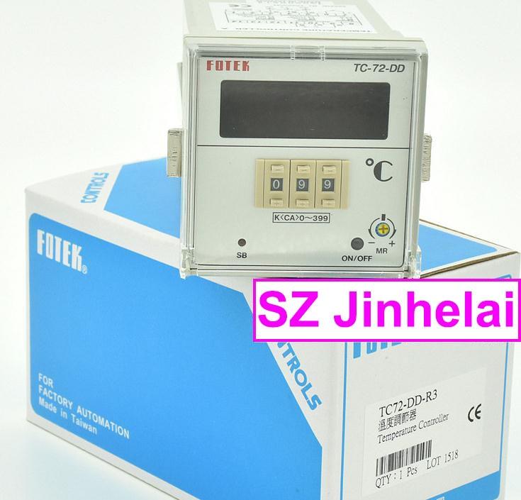 TC72-DD-R3 New and original FOTEK  Temperature controller made in taiwan fotek tc72 dd r3 digital temperature controllers