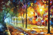 palette knife oil painting  modern oil painting canvas oil painting K307