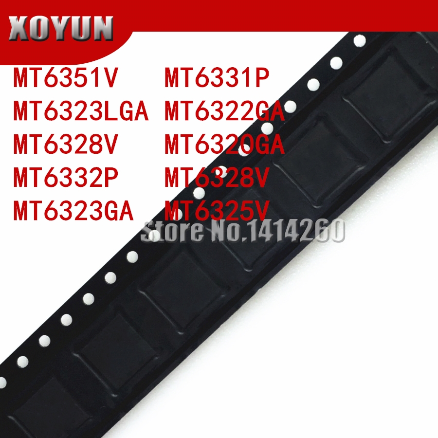 1pcs/lot MT6351V MT6331P MT6323LGA MT6322GA MT6328V MT6320GA MT6332P MT6328V MT6323GA MT6325V New