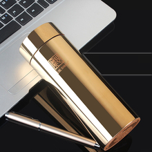 Upscale High Quality 304(18/8) Stainless Steel Vacuum Office Cup Flask Straight