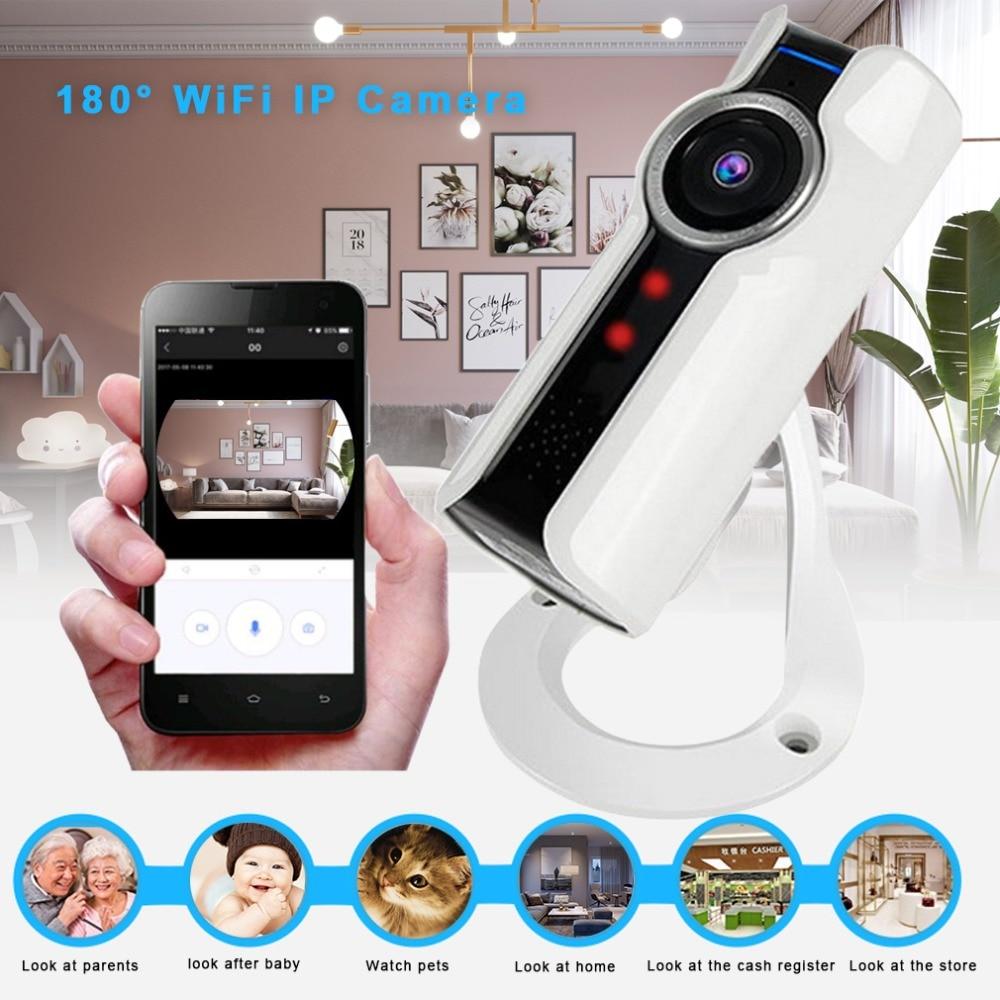 LESHP VR 180 Degree Panoramic Camera 720P HD Wifi Remote Control ...