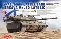 Мэн модель TS-025 1/35 израиль основной боевой танк меркава Mk.3D поздно лиц пластиковая модель комплект