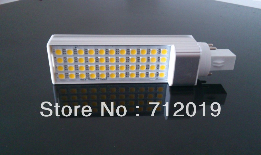 High bright G24 4 pins 44SMD 5050 led spotlight PL LED 11W Lamp Bulb Light warm/White AC85-265V E27 - Shenzhen Sunshine Trade Co., Ltd. store