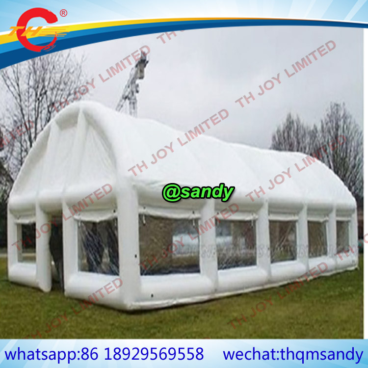 Wedding With White Tent: Free Air Ship To Door,Outdoor Inflatable Wedding Tent