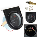 1 set 52mm LED Light Car Pointer Oil Temperature Temp Gauge 50-150 Degree