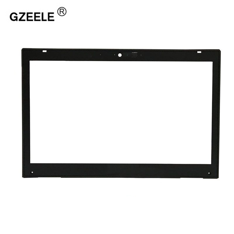GZEELE New Display Bezel Lcd Front Bezel Assembly For HP For EliteBook 8460P 8460W 8470P 8470W Laptop LCD Front Bezel Cover new laptop lcd display front screen back cover bezel