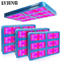 4PCS 3000W Full Spectrum LED Grow Light Hydroponics Lamp for Greenhouse Medical Plants Indoor Vegs lettuce Strawberry Lights