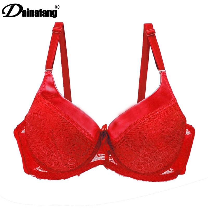 5221 # merek baru 40/90 42/95 44/100 D cup DD ukuran besar bra, penutupan kembali bra pakaian dalam wanita, busur mendongkrak bra lingerie seksi