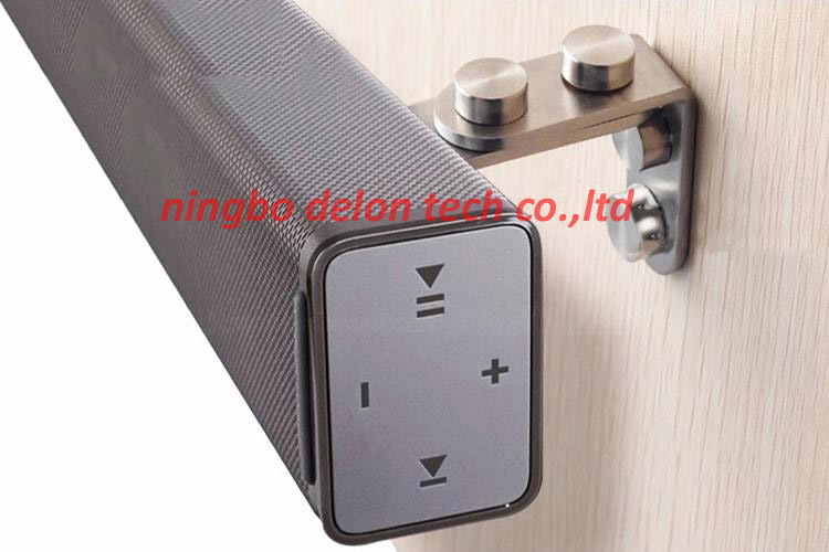 1pair Universal Stainless Steel Sound Bar Shaped Speaker Wall Mount Bracket Stand In Projector Brackets From Consumer Electronics On Aliexpress