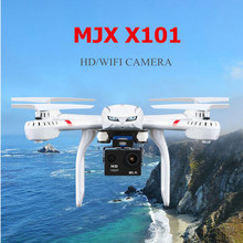 wifi fpv rc drone X101 2.4GHz 6 Axis Gyro Quadcopter 360 Flips RC Headless Quadcopter Drone RTF with hd camera rc toys best gift