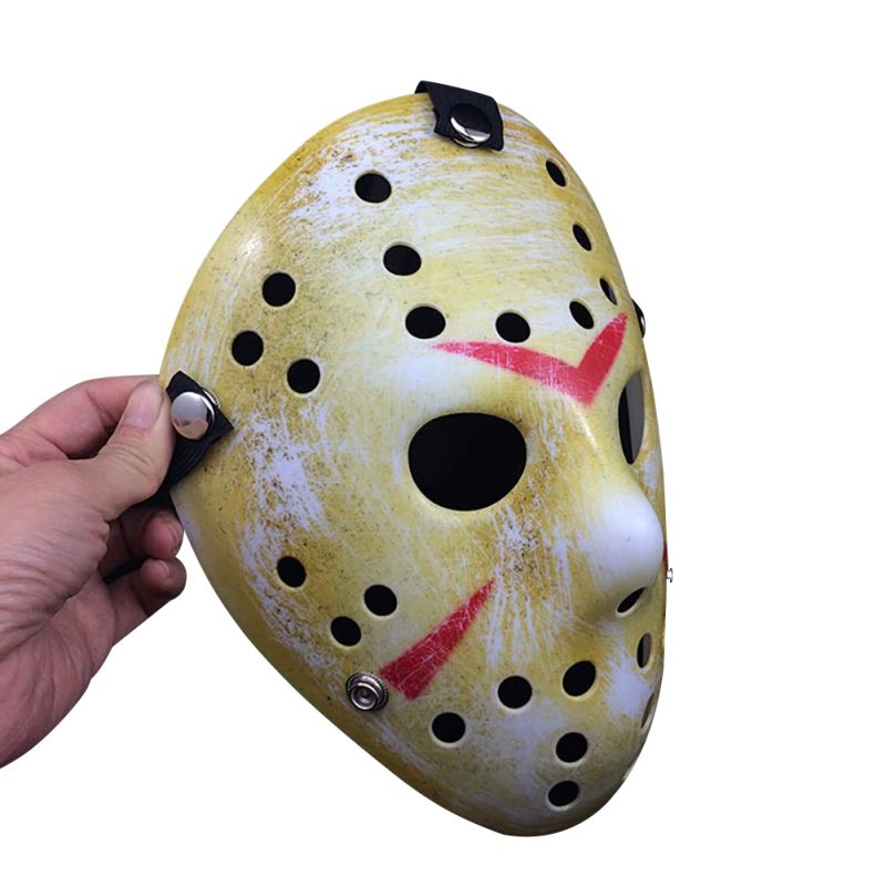 Halloween Hockey Masker.Us 2 12 21 Off 2018 Halloween Mask Jason Vs Friday The 13th Horror Hockey Mask Halloween Party Cosplay Scary Mask In Party Masks From Home Garden