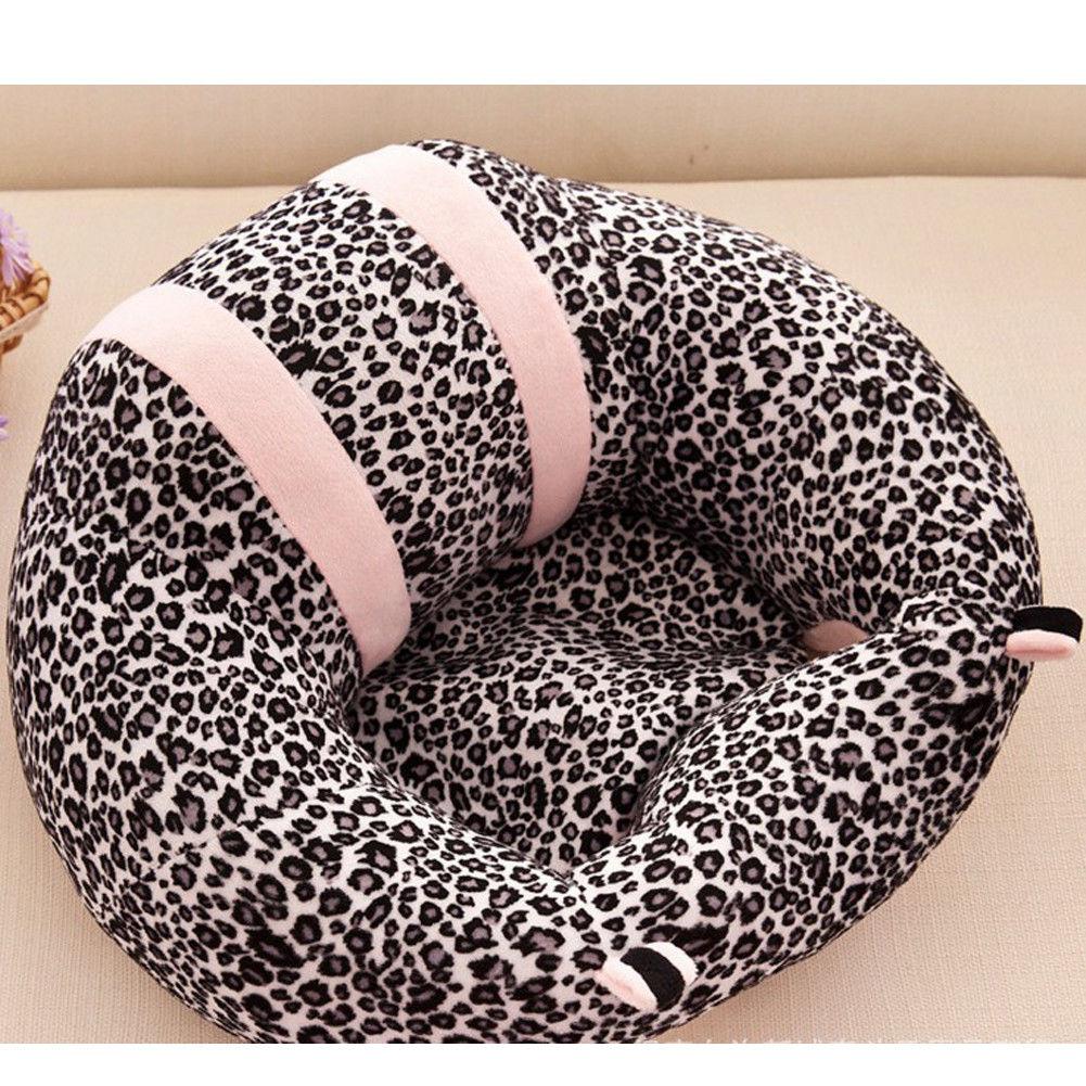 Новое Детское сиденье для малышей, мягкая подушка на стул, плюшевая игрушка-подушка для дивана - Цвет: D