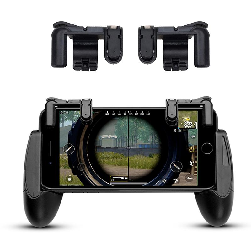Phone Gamepad and Controller Flexible Shooter Game Trigger Fire Button For PUBG/Knives Out/Rules of Survival for IOS Phone