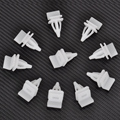 New 10pcs Nylon Push Rivet Retainer Rocker Fastener Panel Skirt Sill Clips For Honda Acura 91513-SM4-000