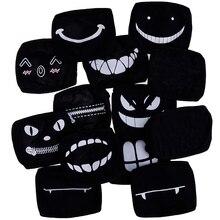 11style Black Anime Cartoon Kpop Lucky Bear Women Men Muffle Face Mouth Masks Kawaii Cotton Mouth Face Mask