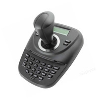 PTZ Keyboard Controller with 3D Joystick for CCTV Speed Dome Camera