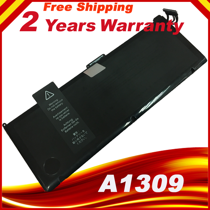 New laptop battery FOR APPLE MacBook Pro 17 A1297 (2009 Version), MC226*/A MC226CH/A Series A1309 battery free shipping lmdtk new laptop battery for apple macbook pro retina13 inch a1502 2013 2014 year a1493