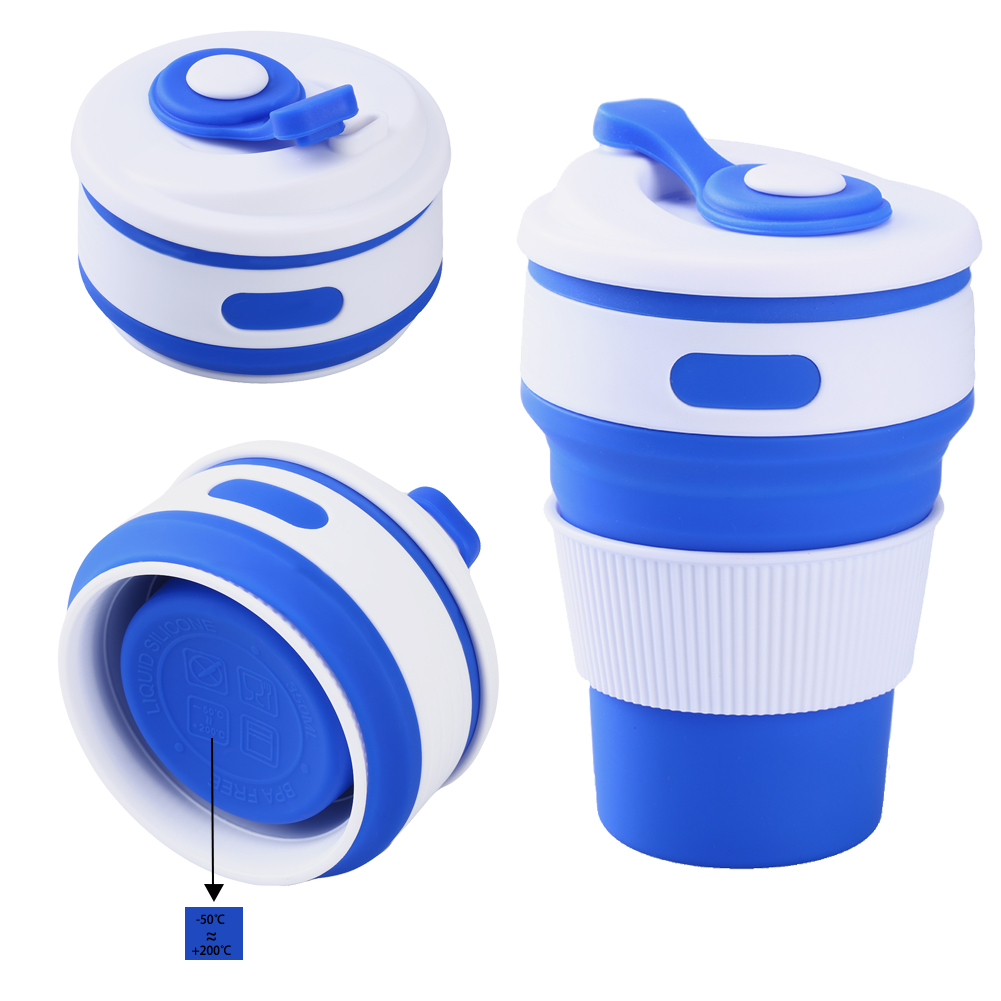 Mug Collapsible Cup Mugs Proof 350ml Coffee In Functional Foldable Travel Homeamp; On Uarter Leak Garden Multi Lid Silicone From QBEerdCxoW