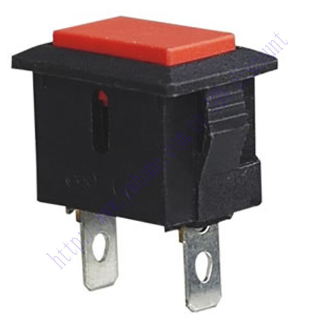 <font><b>5</b></font> Stücke 2 <font><b>Pin</b></font> Red Momentary Push Button <font><b>Switch</b></font> 6A 250 V AC 10A 125 V AC PBS 101 image