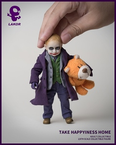Image 5 - 1/6 Scale Take Happiness Home Collectible Full Set 15cm Lakor JOKER Baby 2.0 Boy Action Figure Doll Model for Fans Colelction Gi