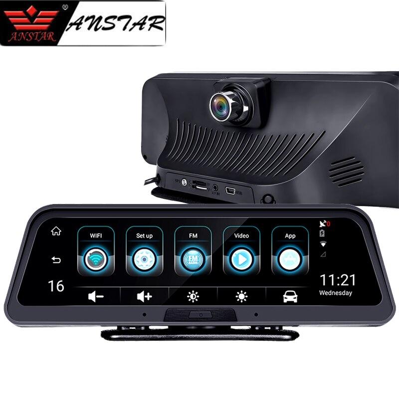 ANSTAR 4G Dash Cam Android tableau de bord voiture caméra WiFi GPS ADAS voiture DVR 1080 P enregistreur vidéo registraire Auto vue arrière caméra