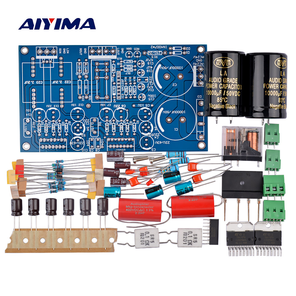 Aiyima Tda7294 Audio Amplifier Board 70w2 Two Channel Speaker Channels Subwoofer Stereo Power Kit Diy Circuit Protection Sound System In From Consumer