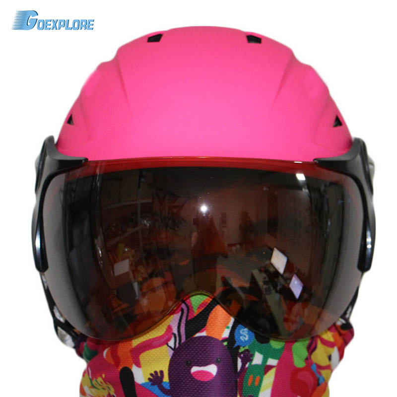 ФОТО Factory supply adult ski open face safty helmet skateboarding snowboard ski helmet
