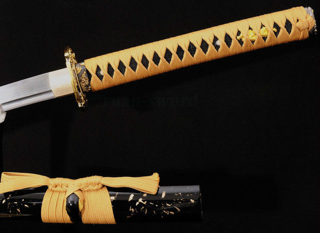 41″ Hand Forged Japanese Samurai Sword KATANA Folded Steel Full Tang Blade